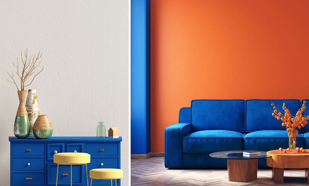 Où trouver peinture bleu Klein ?